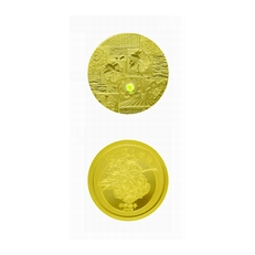 平成21年桜の通り抜け記念メダル「平野撫子」