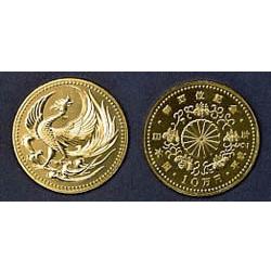 天皇陛下御即位記念100,000円金貨幣