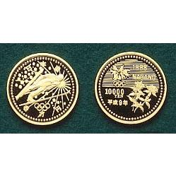 長野オリンピック冬季競技大会記念10,000円金貨幣(1次)