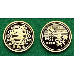 長野オリンピック冬季競技大会記念10,000円金貨幣(2次)