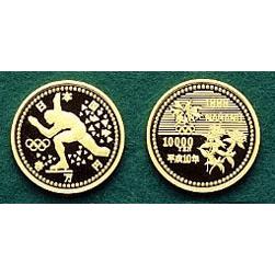 長野オリンピック冬季競技大会記念10,000円金貨幣(3次)